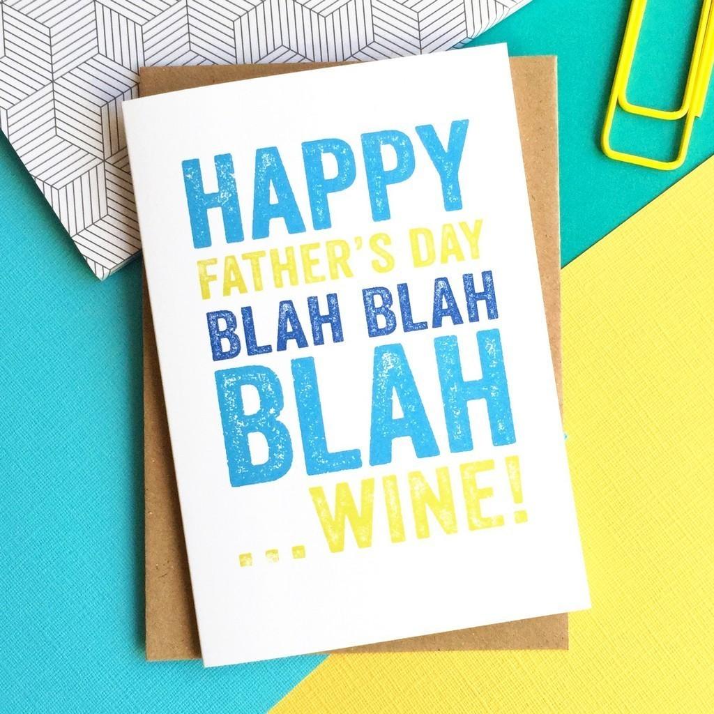 Blah wine