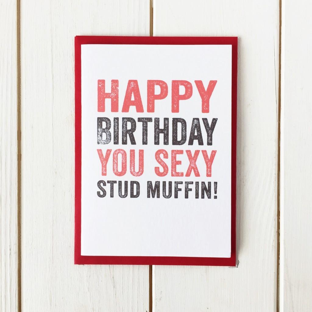 Happy Birthday y Stud Muffin DYP